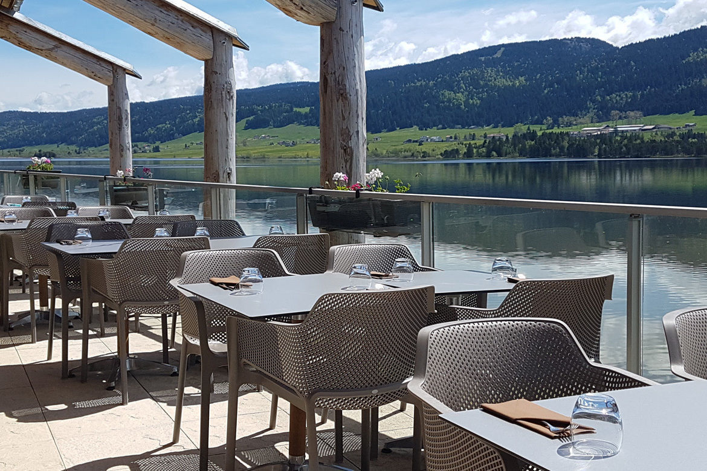 restaurant le chalet du lac aux rousses dans le jura